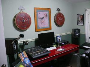 Deborah's studio console